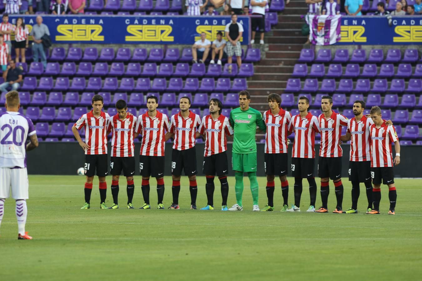 El partido Valladolid-Athletic en imágenes