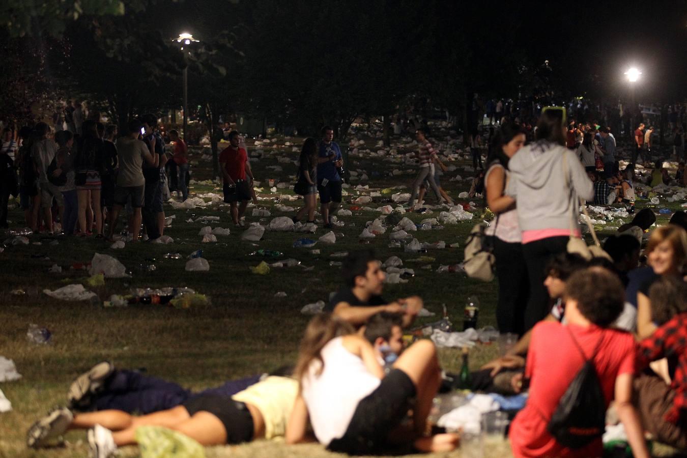 Un parque Europa entregado a Zombie Kids