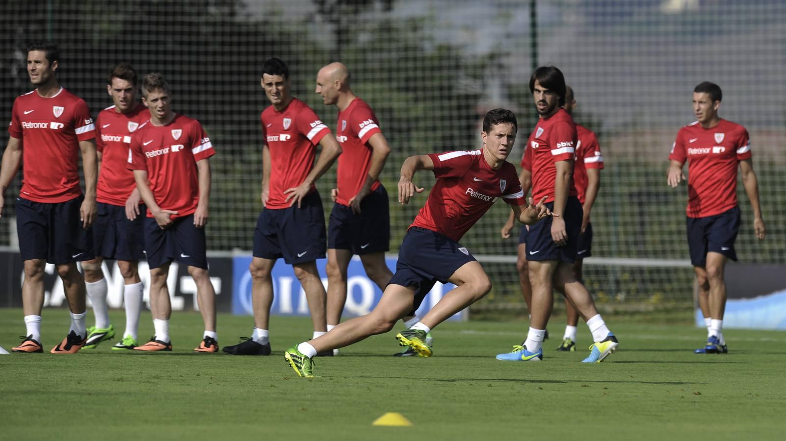 ¿El último entrenamiento de Herrera con el Athletic?