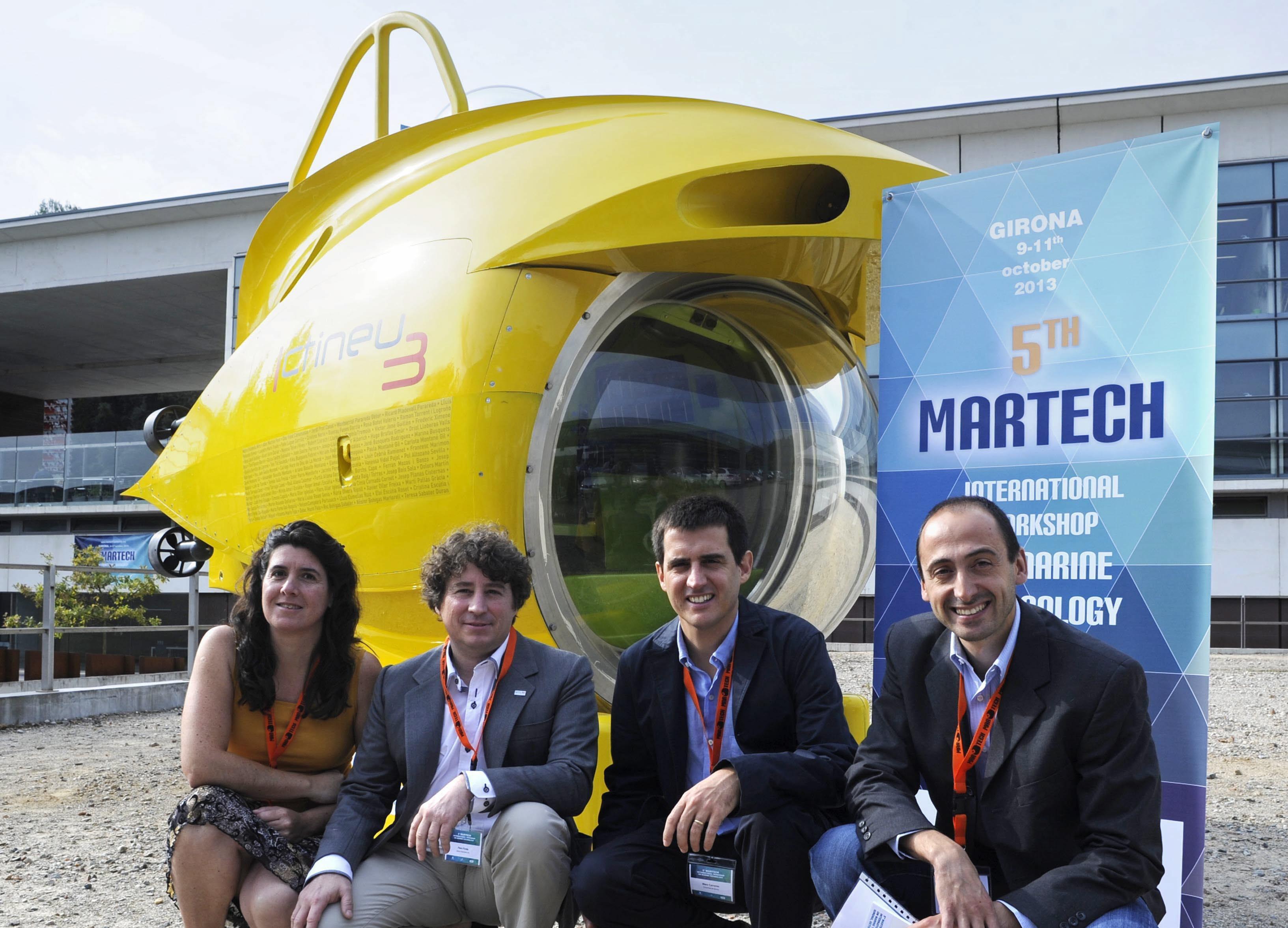 Presentan el submarino Ictineu3