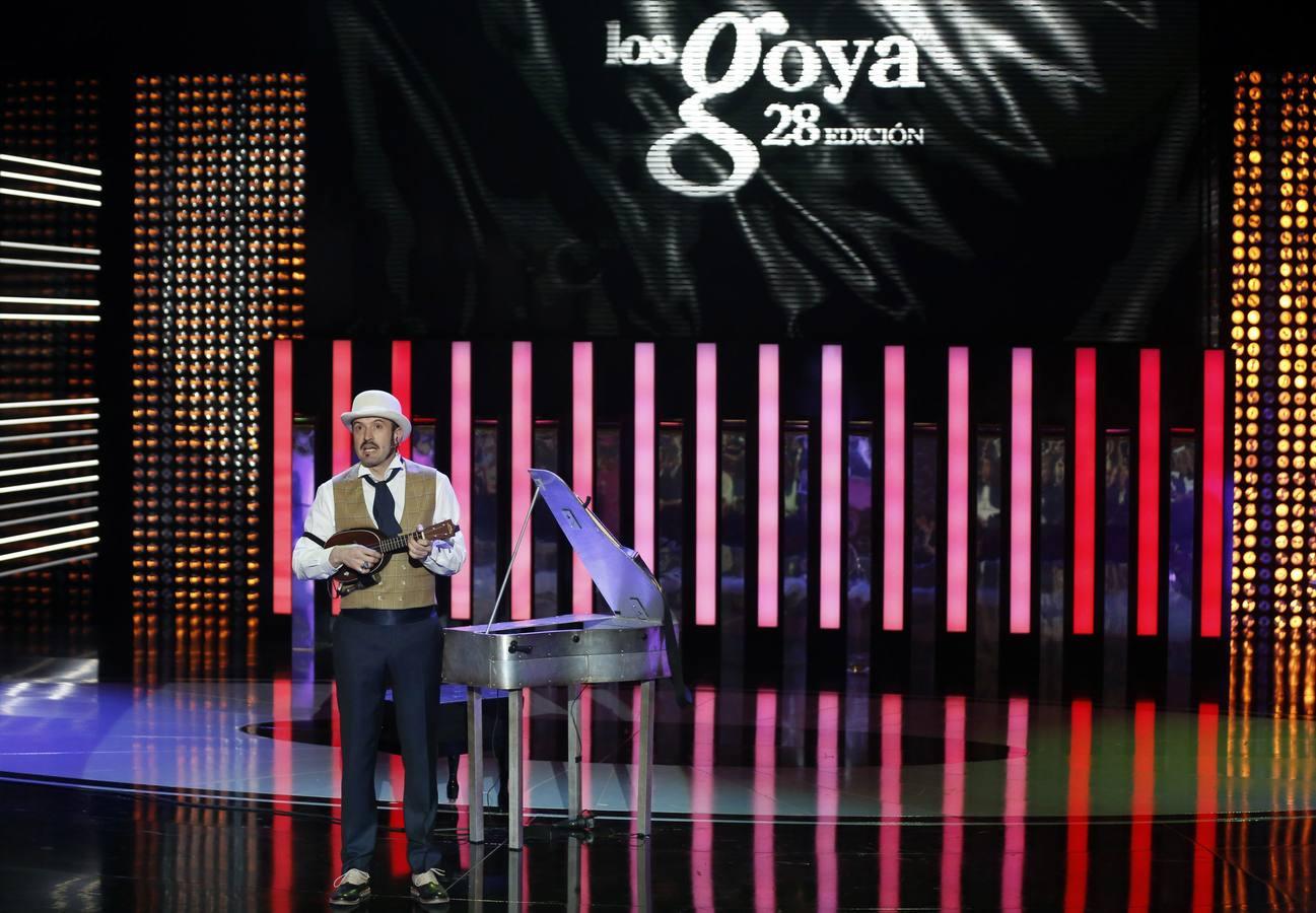 La ceremonia de los premios Goya 2014
