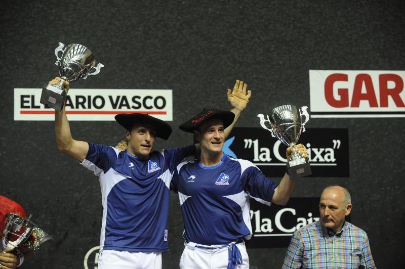 Irujo y Barriola, campeones a base de atacar atrás